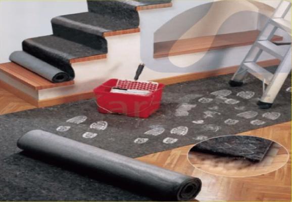 Ứng dụng thảm bảo vệ sàn