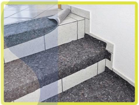 Ứng dụng trải bảo vệ cầu thang