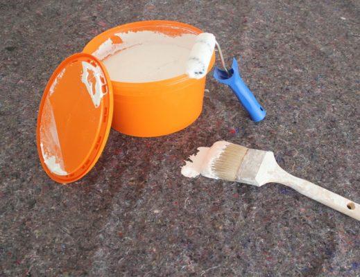 Thảm bảo vệ sàn khi sơn