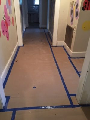 Giấy cứng bảo vệ sàn