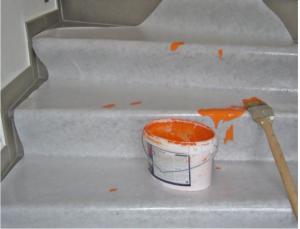 Thảm bảo vệ sàn cao cấp trước khi sơn nhà